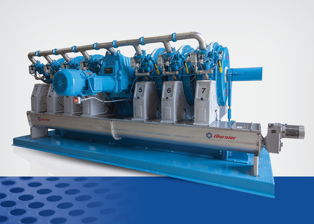 Rotary Press sludge dewatering